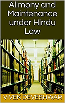 Book: Alimony and Maintenance under Hindu Law